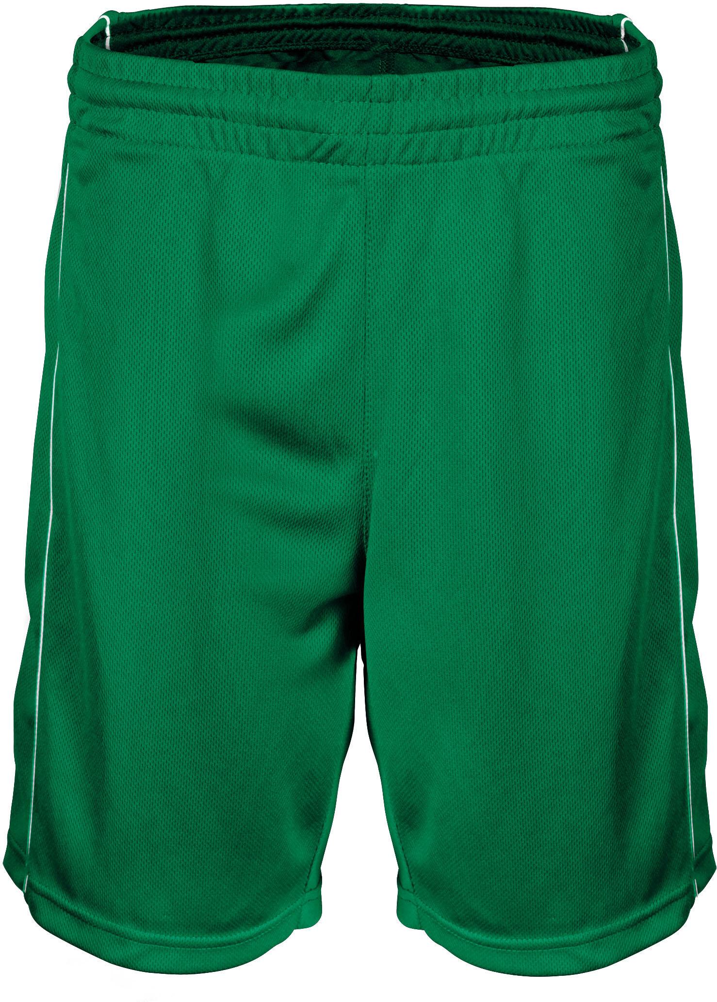 short femme basket ball dark kelly green proact. Black Bedroom Furniture Sets. Home Design Ideas