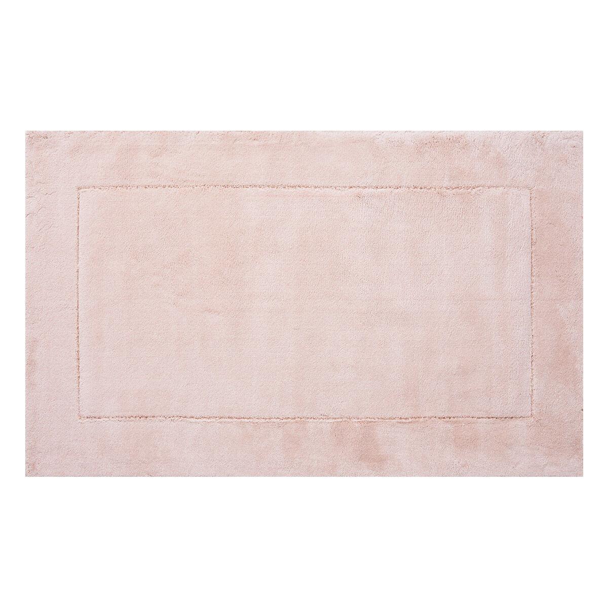 Tapis de bain rose tapis salle de bain m che rose achat for Tapis shaggy avec canape d angle black friday