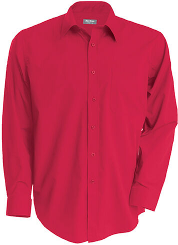 Chemise manches longues JOFREY Classic Red