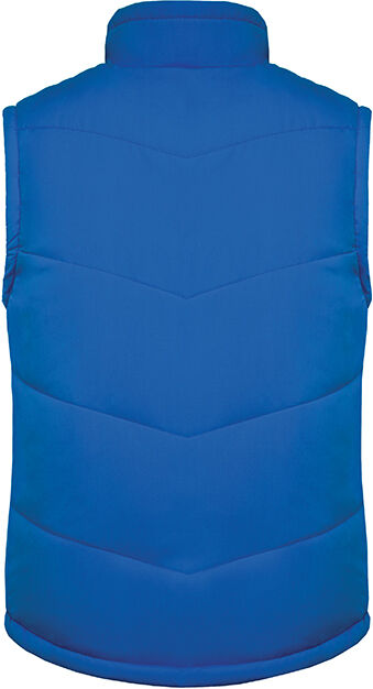 Doudoune sans manche doublée polaire Light Royal Blue