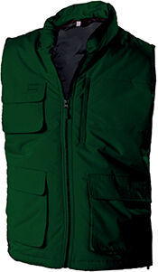 BODYWARMER MATELASSÉ Forest Green