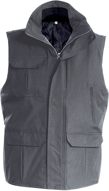 WORKER > BODYWARMER Convoy Grey