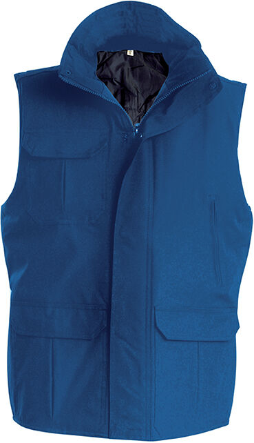 WORKER > BODYWARMER Light Royal Blue