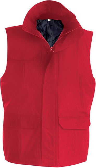 WORKER > BODYWARMER Red