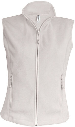 Gilet zippé micropolaire Natural