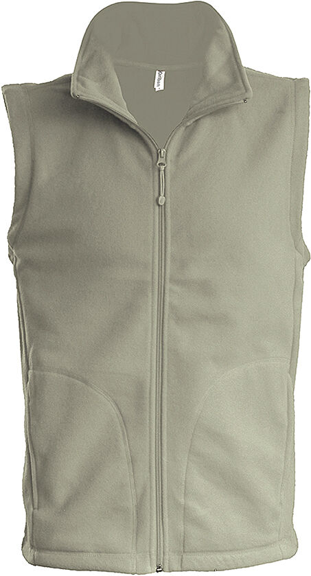 LUCA > GILET MICROPOLAIRE Beige