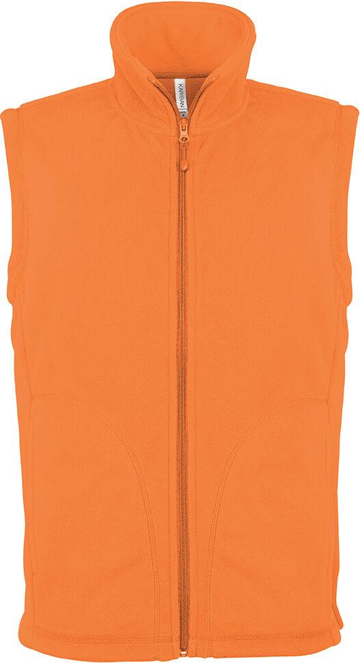 LUCA > GILET MICROPOLAIRE Orange