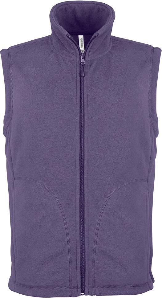 LUCA > GILET MICROPOLAIRE Purple