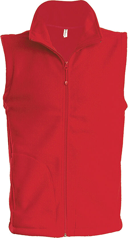 LUCA > GILET MICROPOLAIRE Red