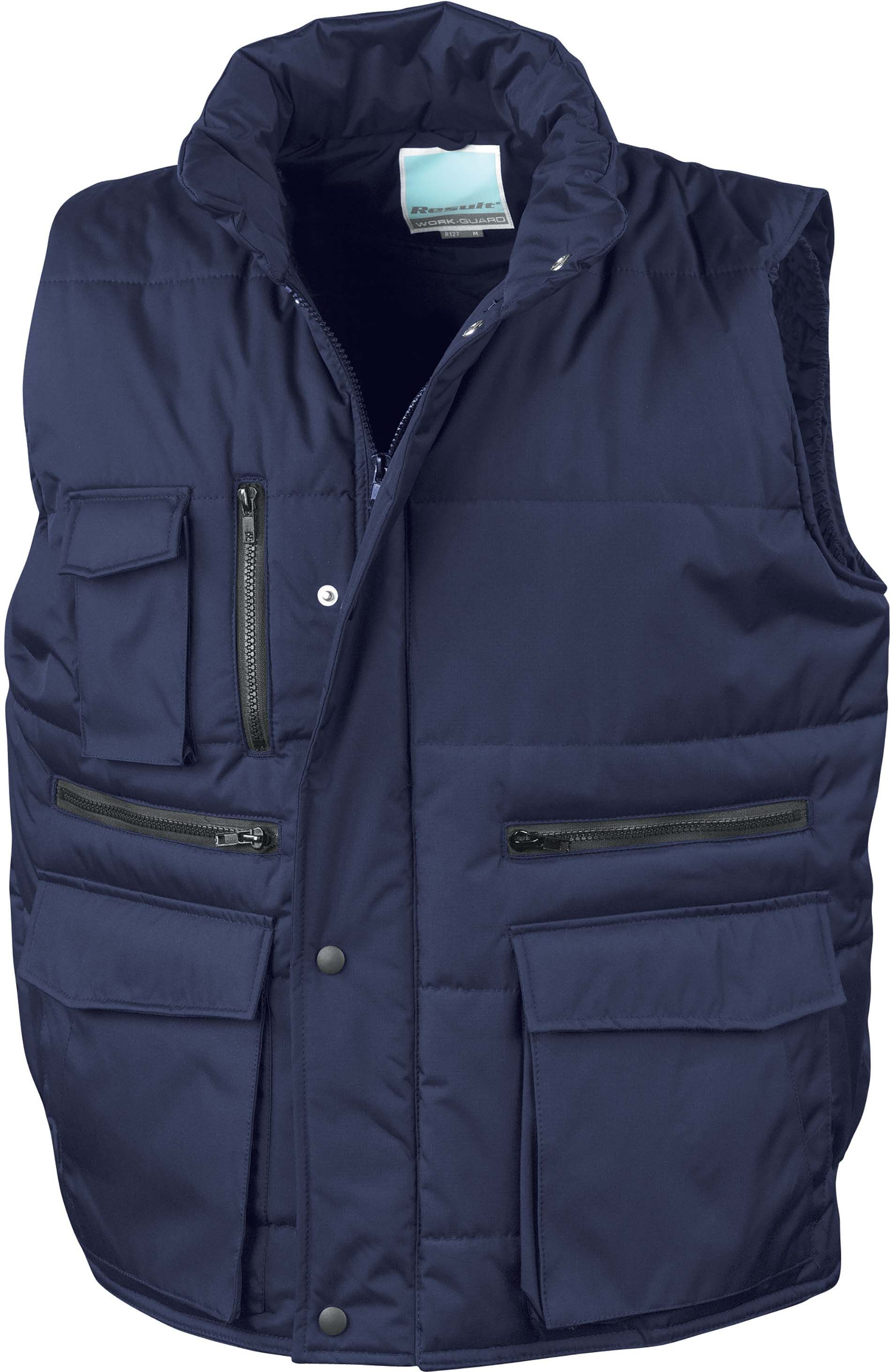 Gilet sans manche multipoches Navy