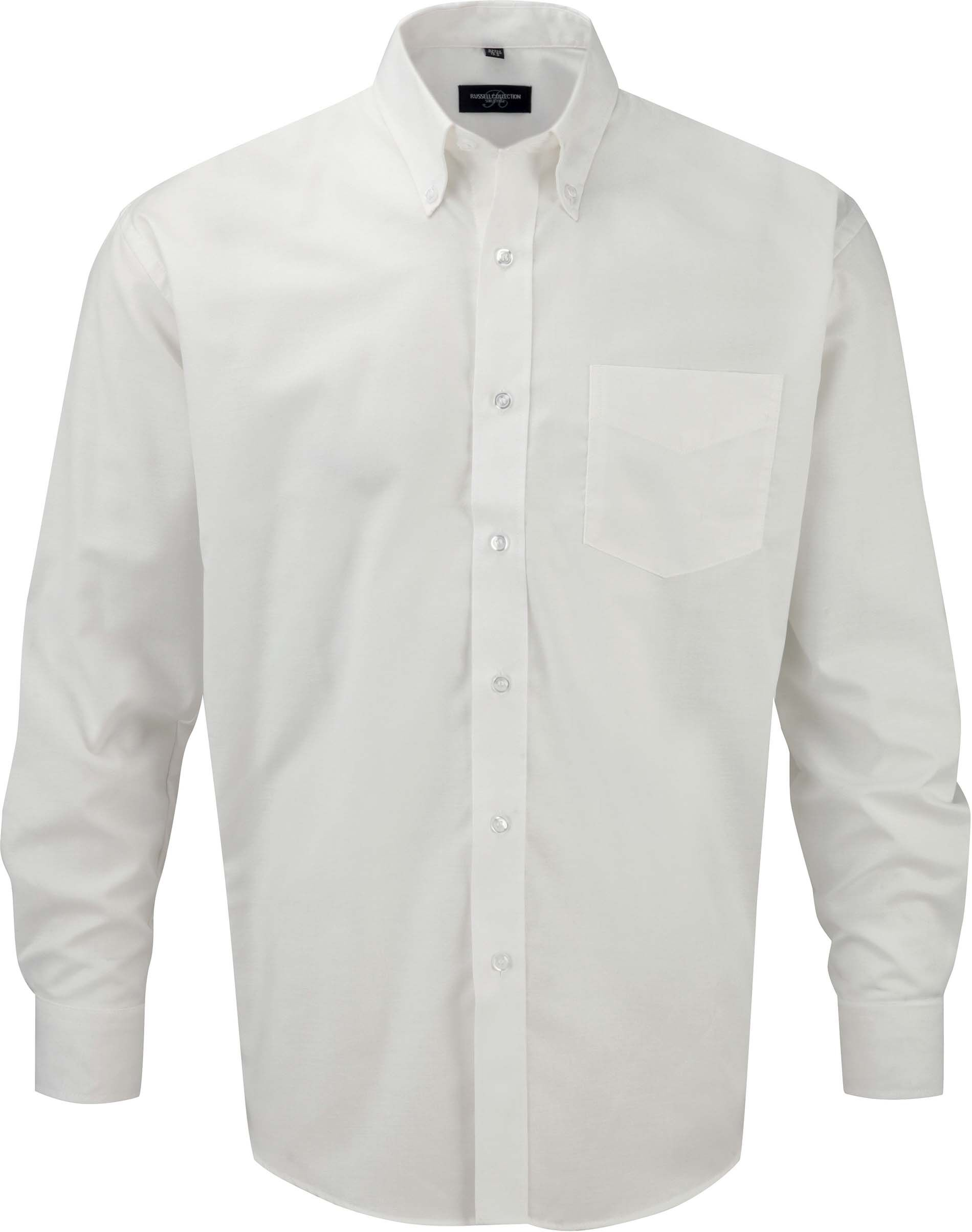 Chemise manches longues oxford White