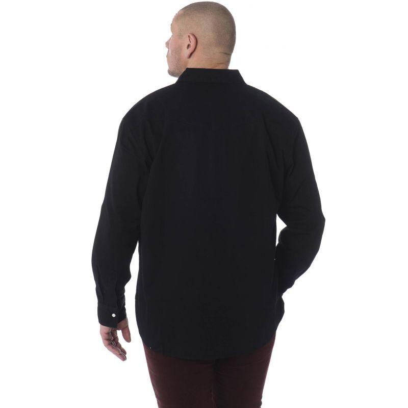 Chemise en jean noir