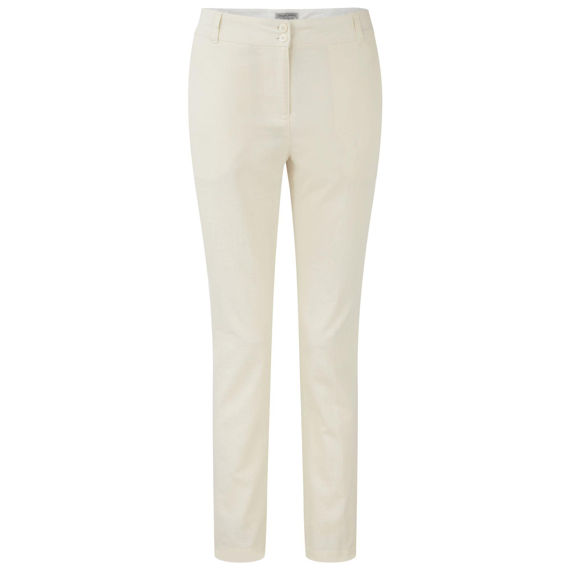 Craghoppers Odette - Pantalon Classique - Femme (Calicot) - UTCG528