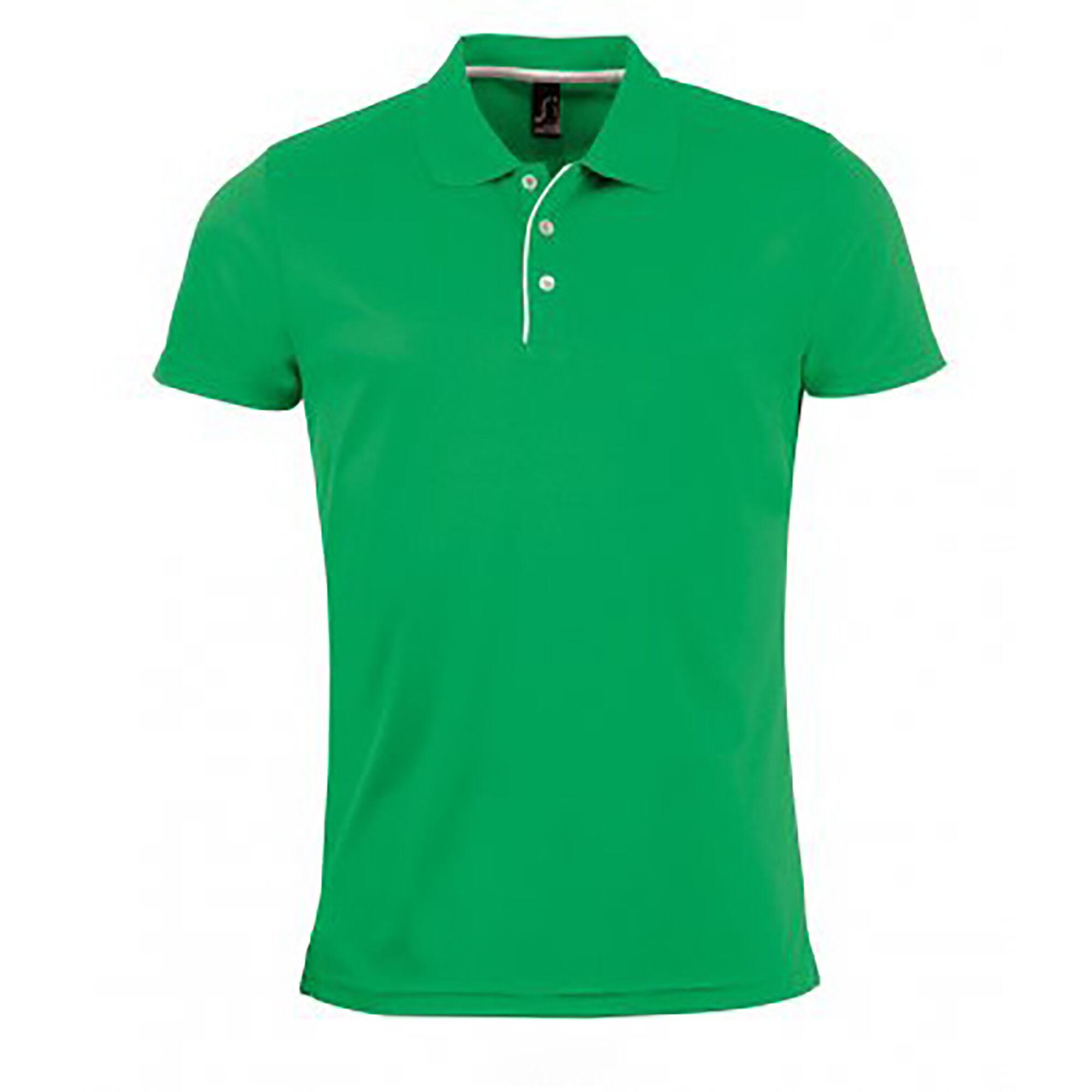Sols - Polo Sport - Homme (Vert tendre) - UTPC2162