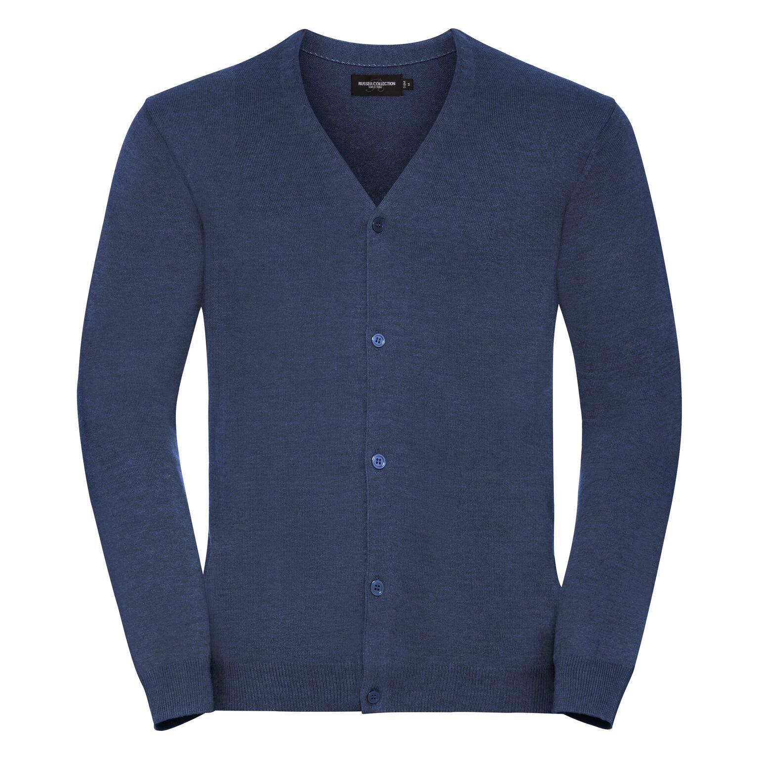 Russell - Gilet Col V - Homme (Bleu denim) - UTPC3137