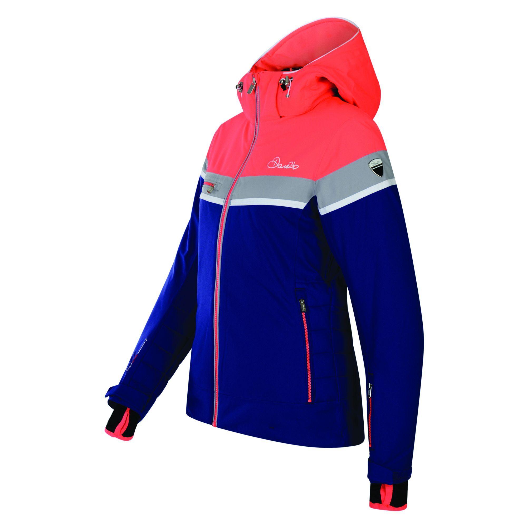 Dare 2B - Manteau De Ski Premiss - Femme (Bleu / orange) - UTRG3144