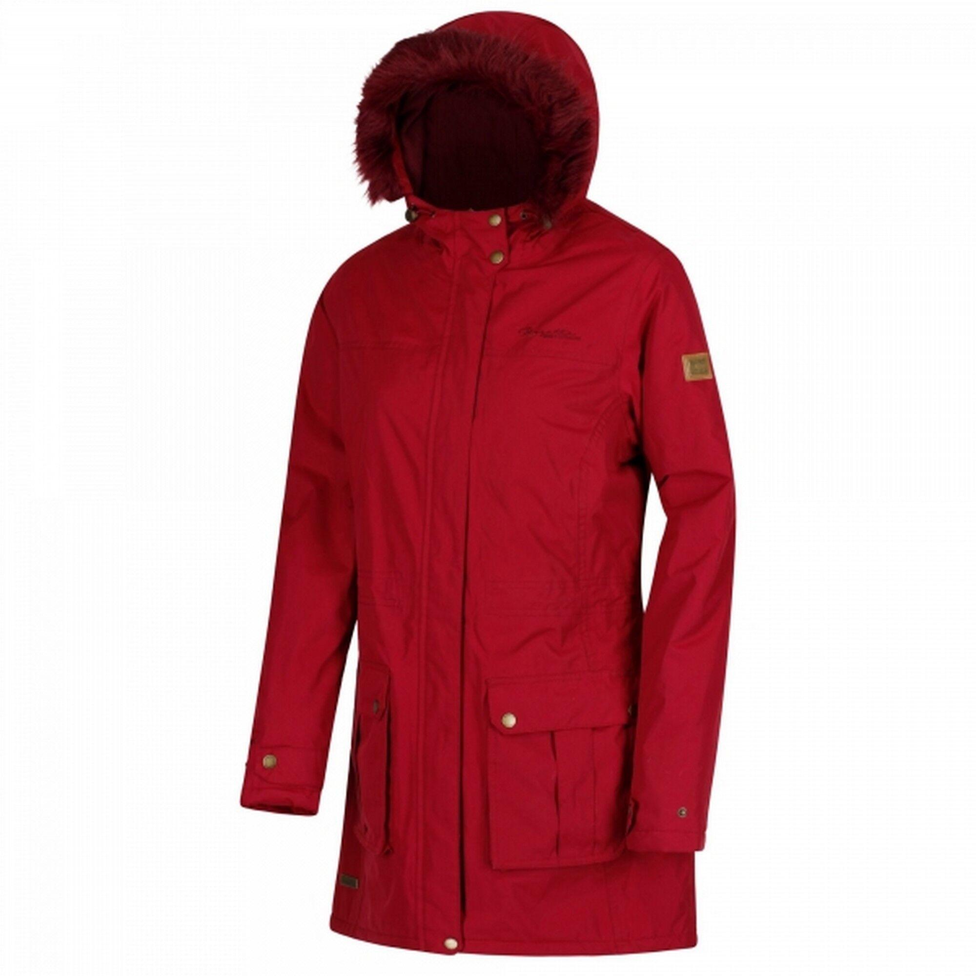 Regatta - Manteau Imperméable Sherlyn - Femme (Rouge) - UTRG3725