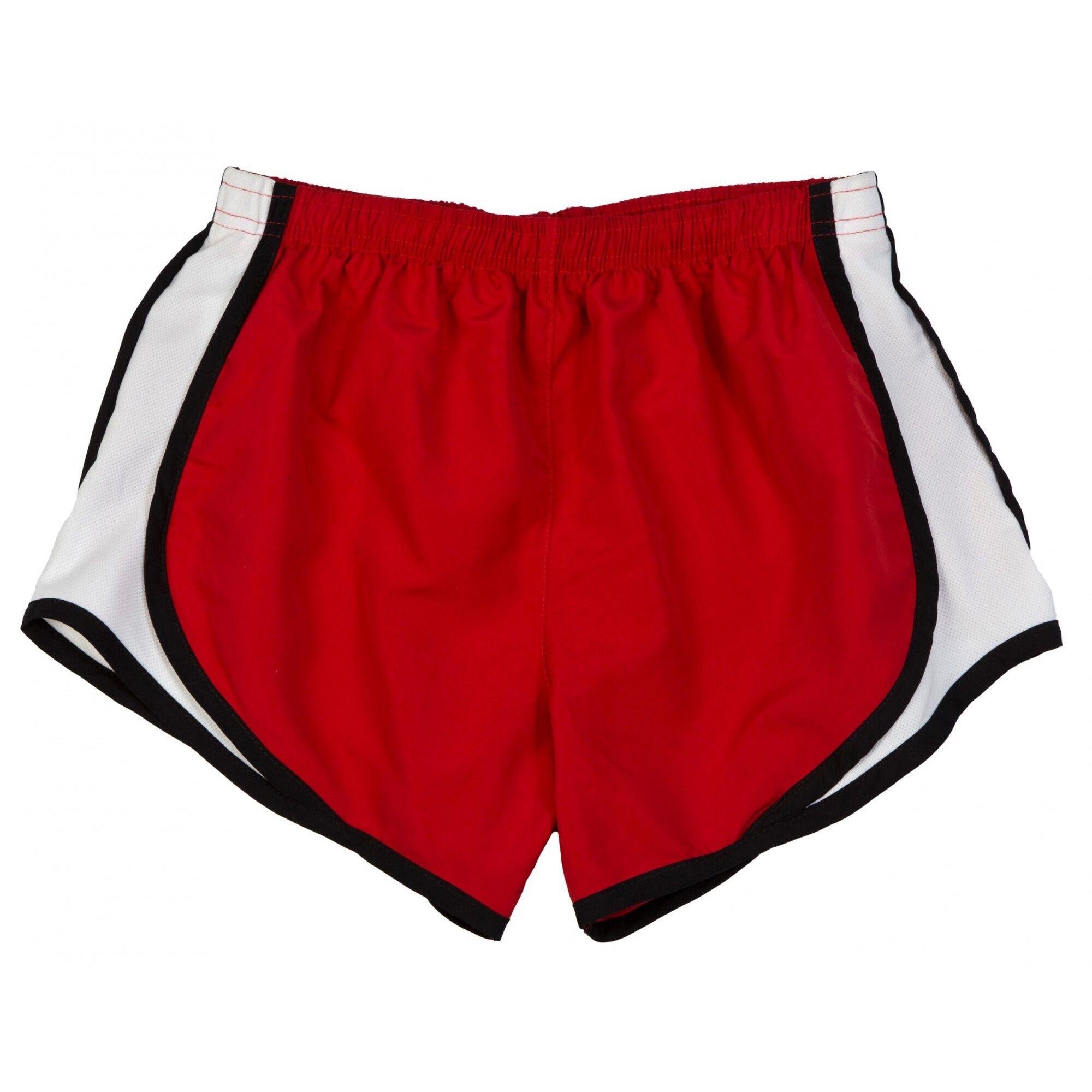 Boxercraft - Short De Sport Respirant - Femme (Rouge/Blanc) - UTRW2618