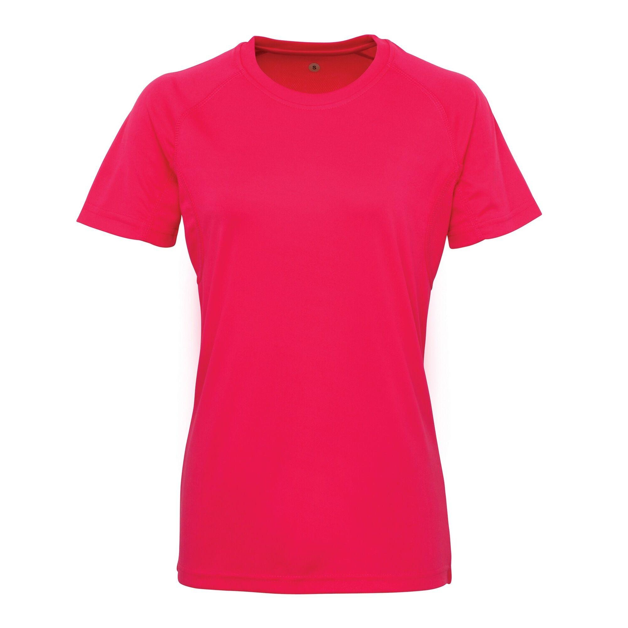 Tri Dri - T-Shirt À Manches Courtes - Femme (Rose) - UTRW4852