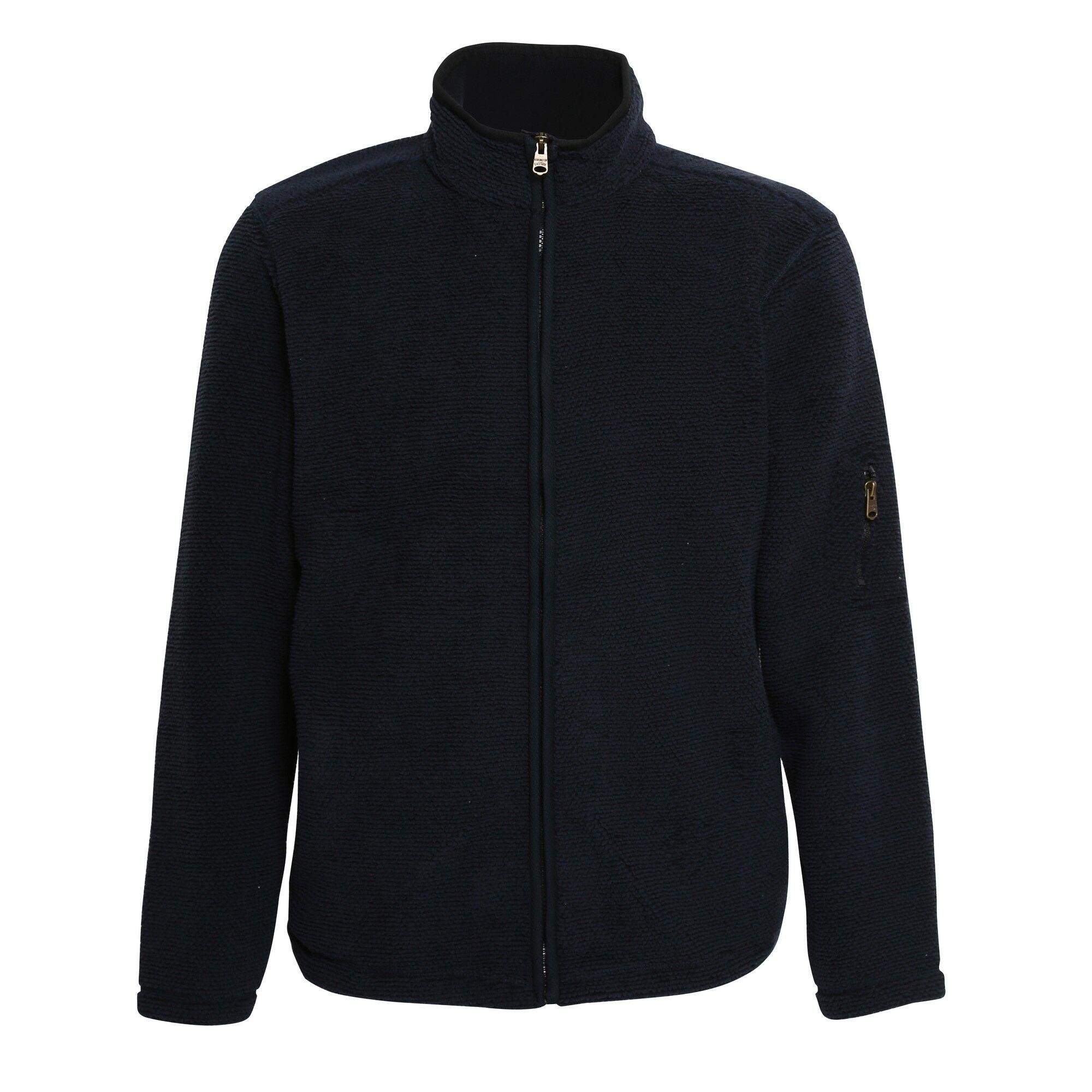 Affordable Fashion Hamish Veste Jacquard Zippée Homme (Bleu Marine foncé) UTRW5274