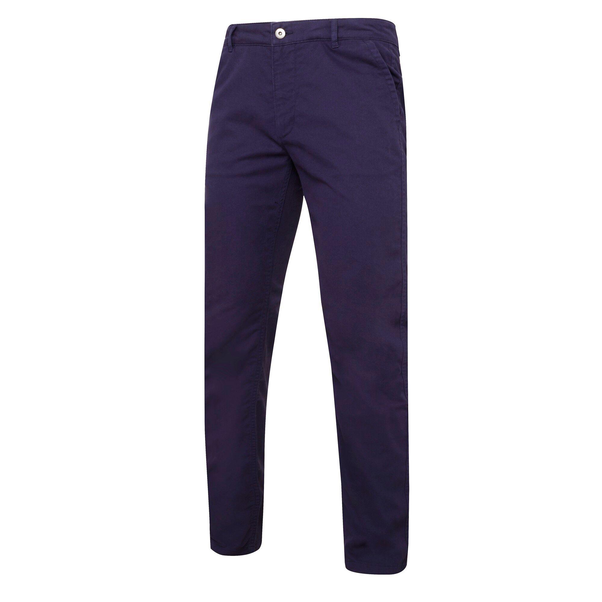 Asquith & Fox - Pantalon Chino En Coton (Coupe Ajustée) - Homme (Bleu marine) - UTRW5355