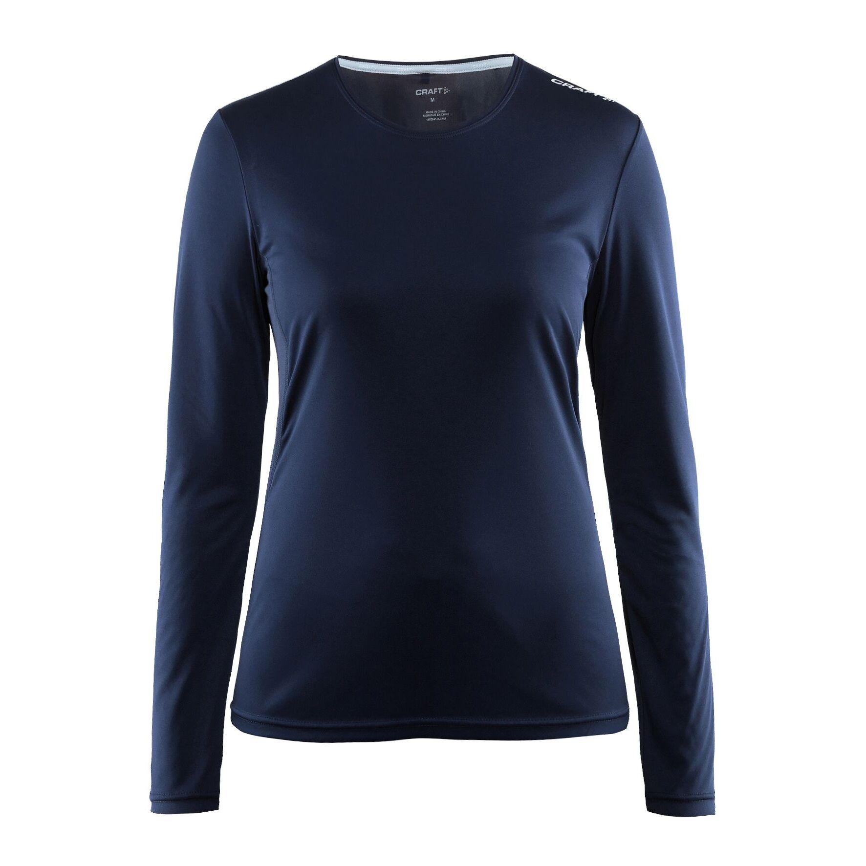 Craft - T-Shirt À Manches Longues - Femme (Bleu marine) - UTRW6158
