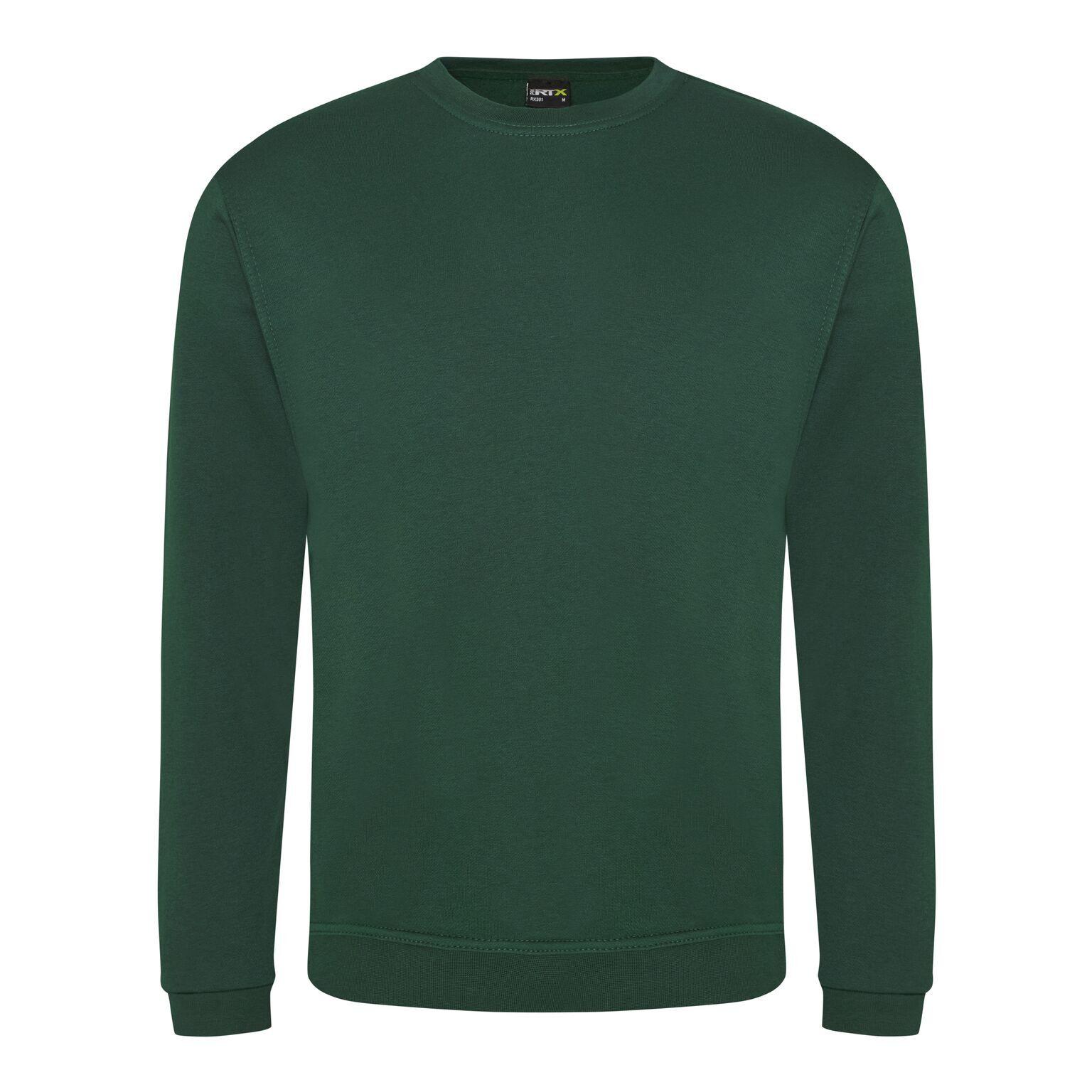 sweat shirt homme vert