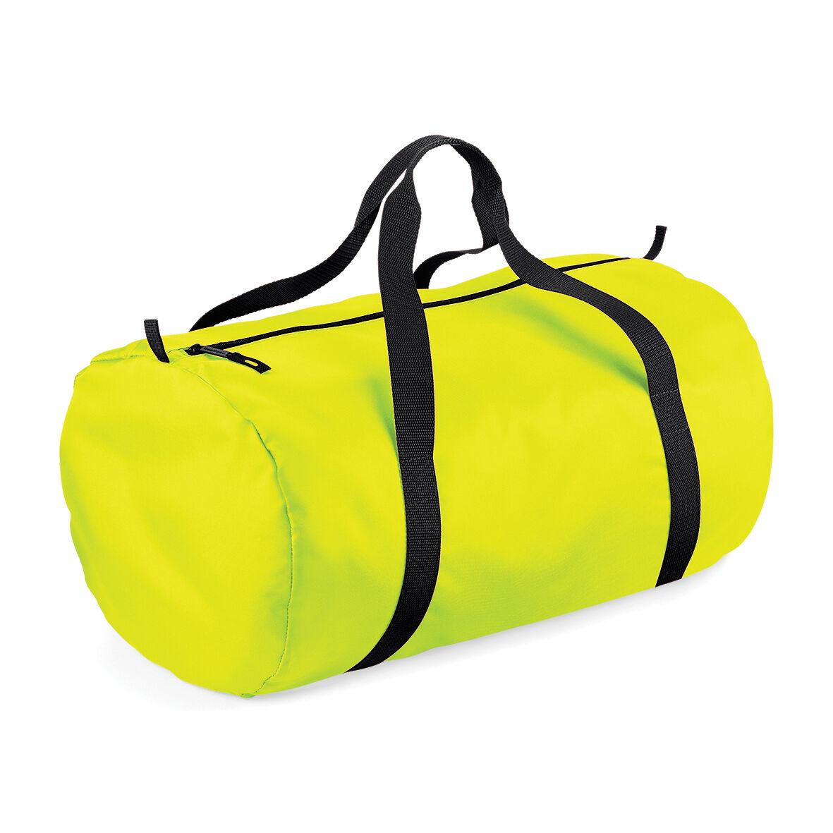 Bagbase Packaway - Sac De Voyage (32 Litres) (Lot De 2) (Jaune fluo/Noir) - UTRW6915