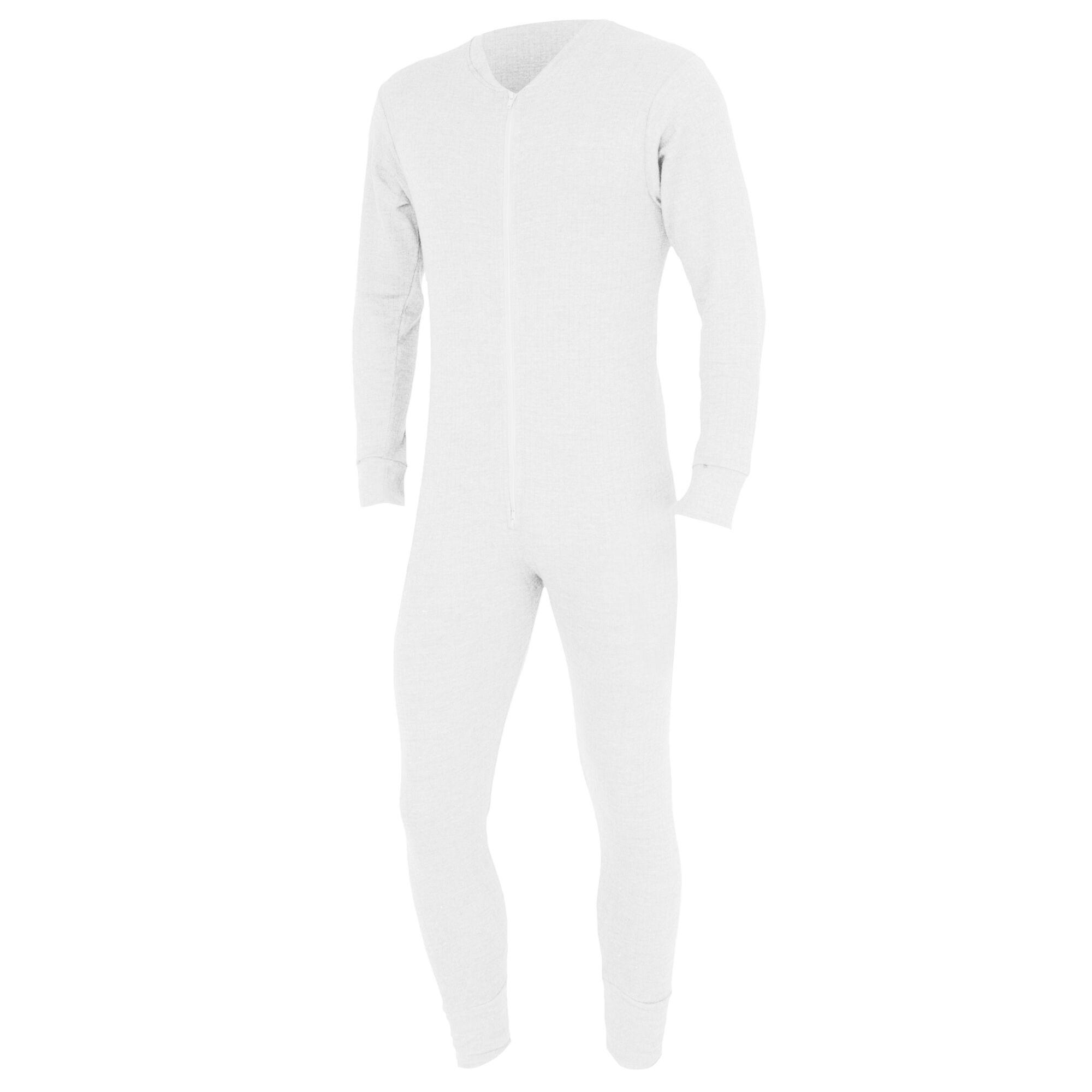 Floso - Combinaison Thermique - Homme (Blanc) - UTTHERM45
