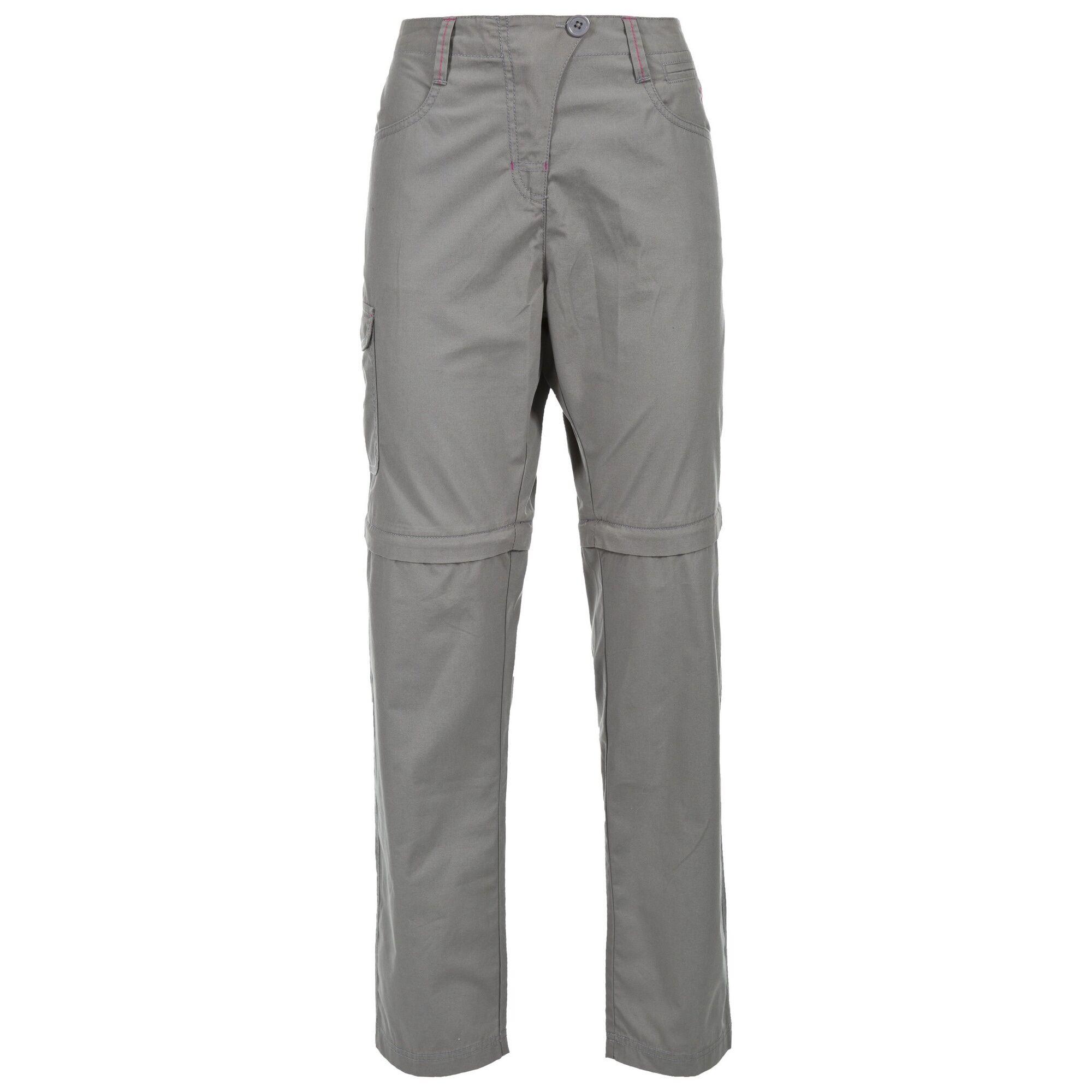 Trespass Rambler - Pantalon De Randonnée Convertible - Femme (Gris tempête) - UTTP3592