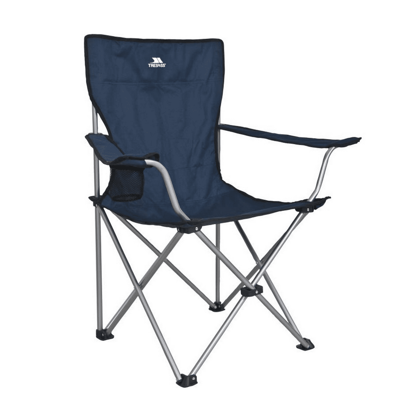 Trespass Settle - Chaise De Camping Pliable (Bleu) - UTTP610