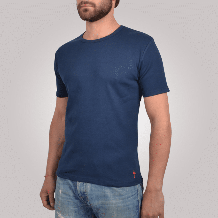 t shirt homme classic tee bleu marine tee shirt manches. Black Bedroom Furniture Sets. Home Design Ideas