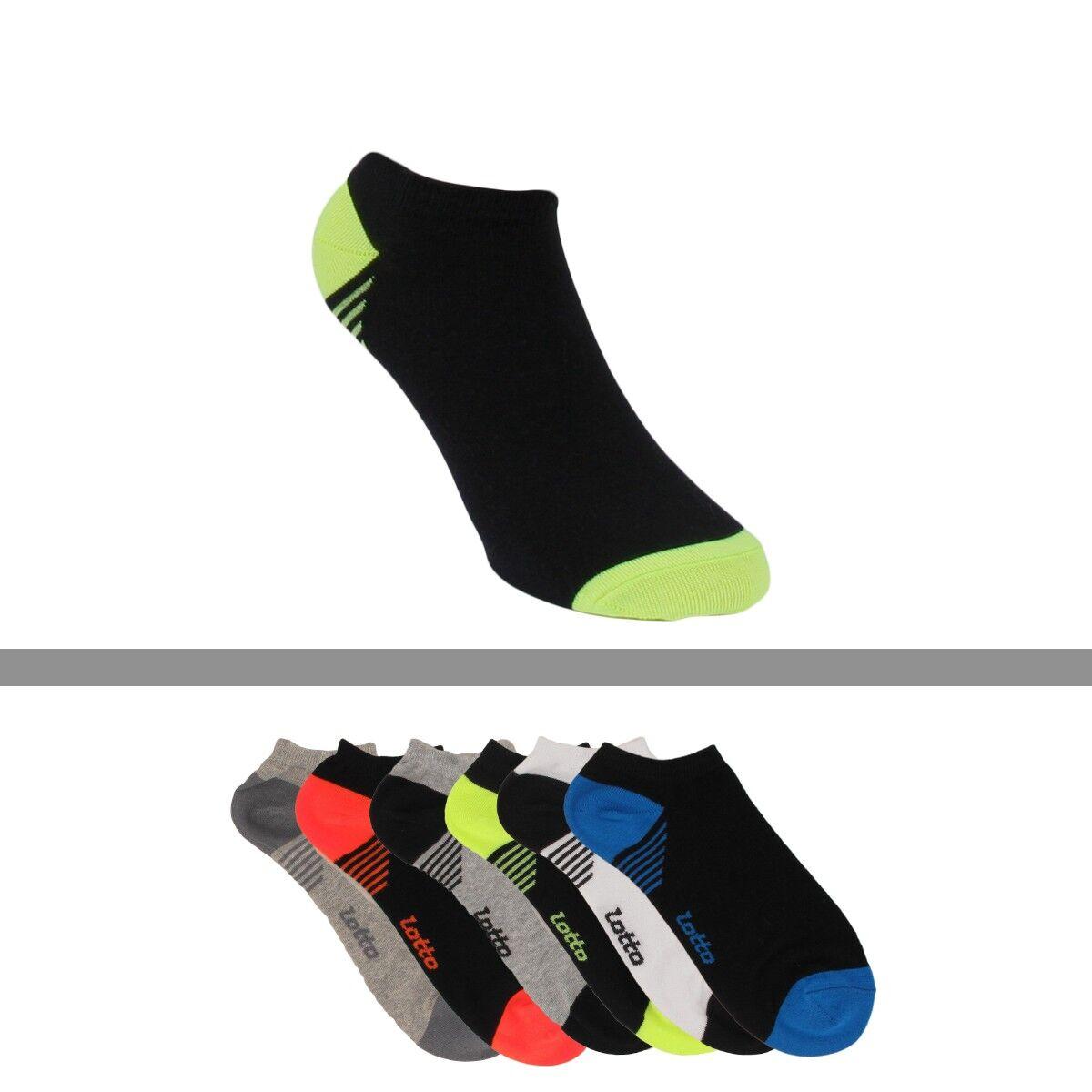 chaussettes courtes sport homme lotto lot de 6 lotto. Black Bedroom Furniture Sets. Home Design Ideas