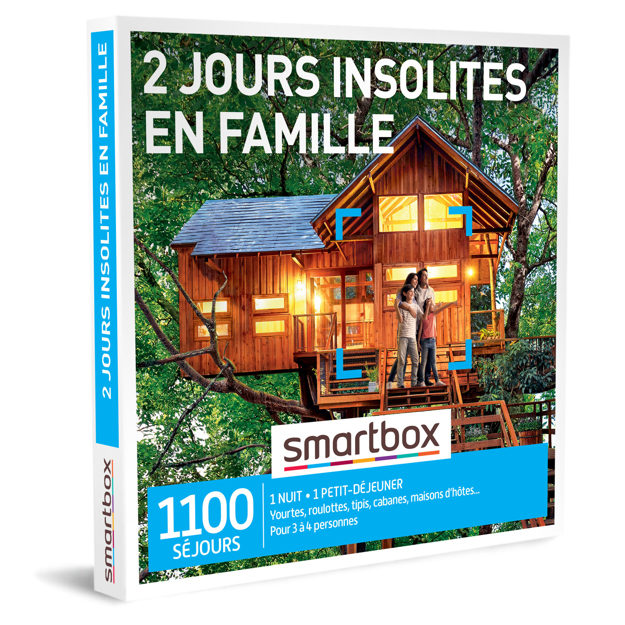 SMARTBOX - 2 jours insolites en famille - Coffret Cadeau Séjour
