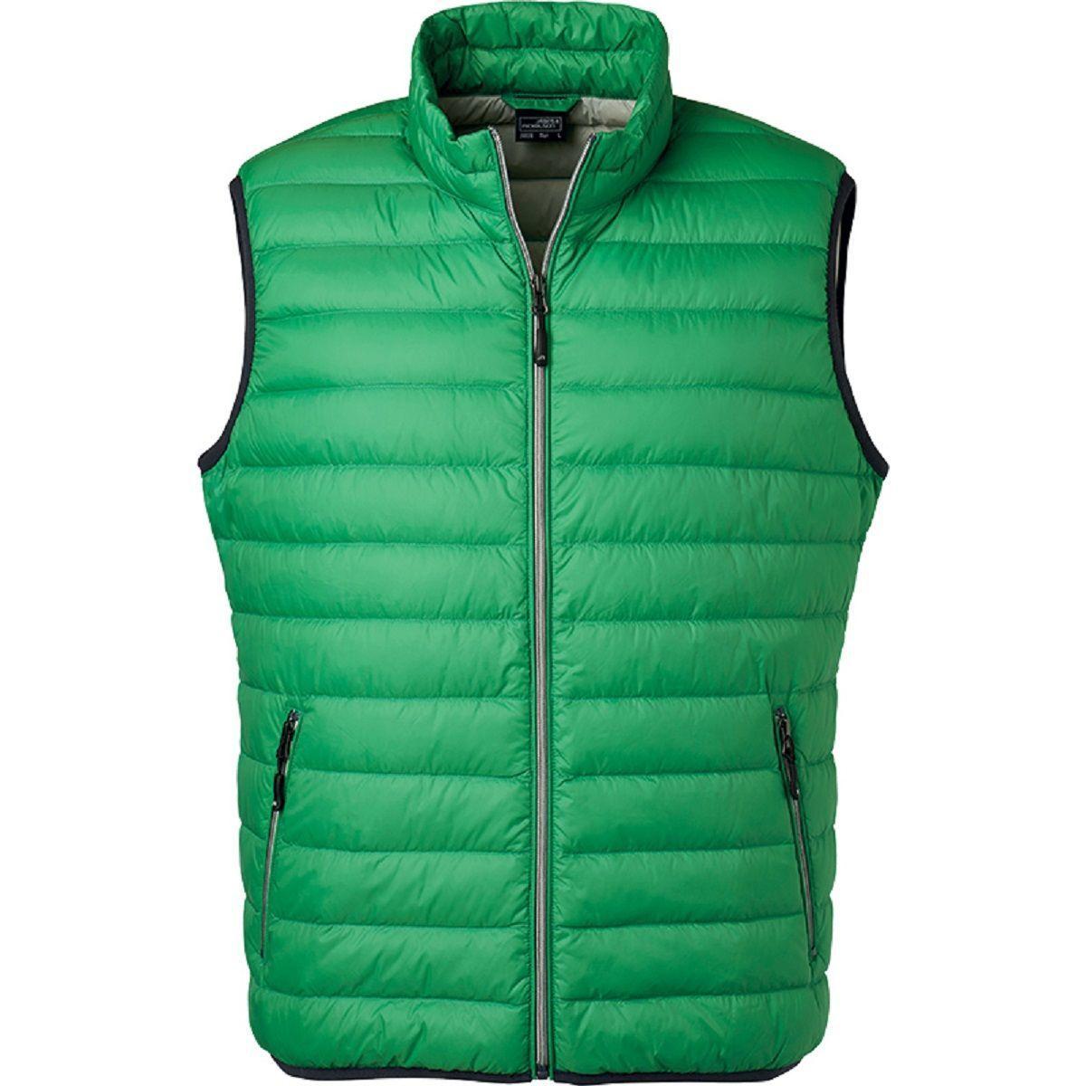 Bodywarmer duvet - JN1138 - vert - Homme