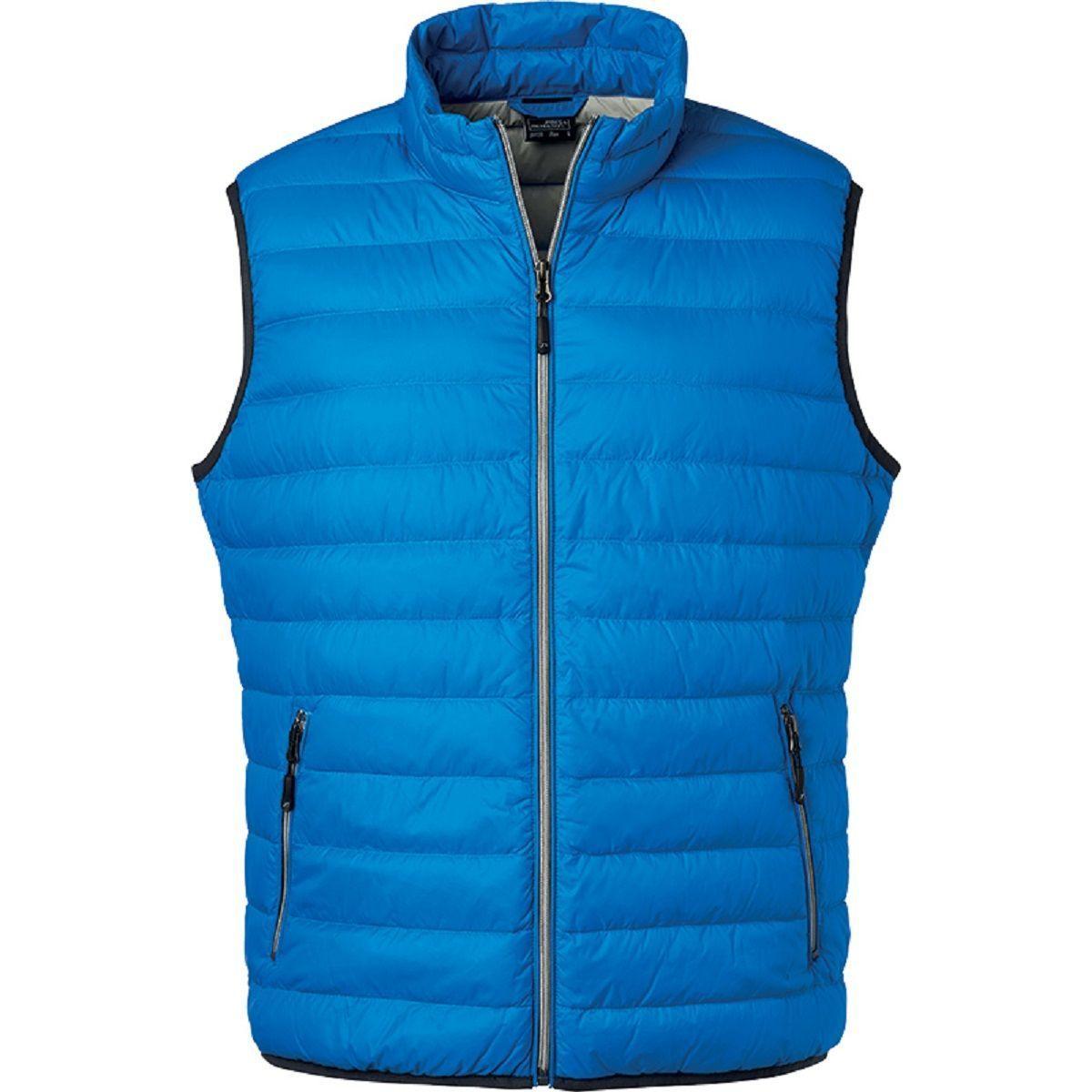 Bodywarmer duvet - JN1138 - bleu cobalt - Homme