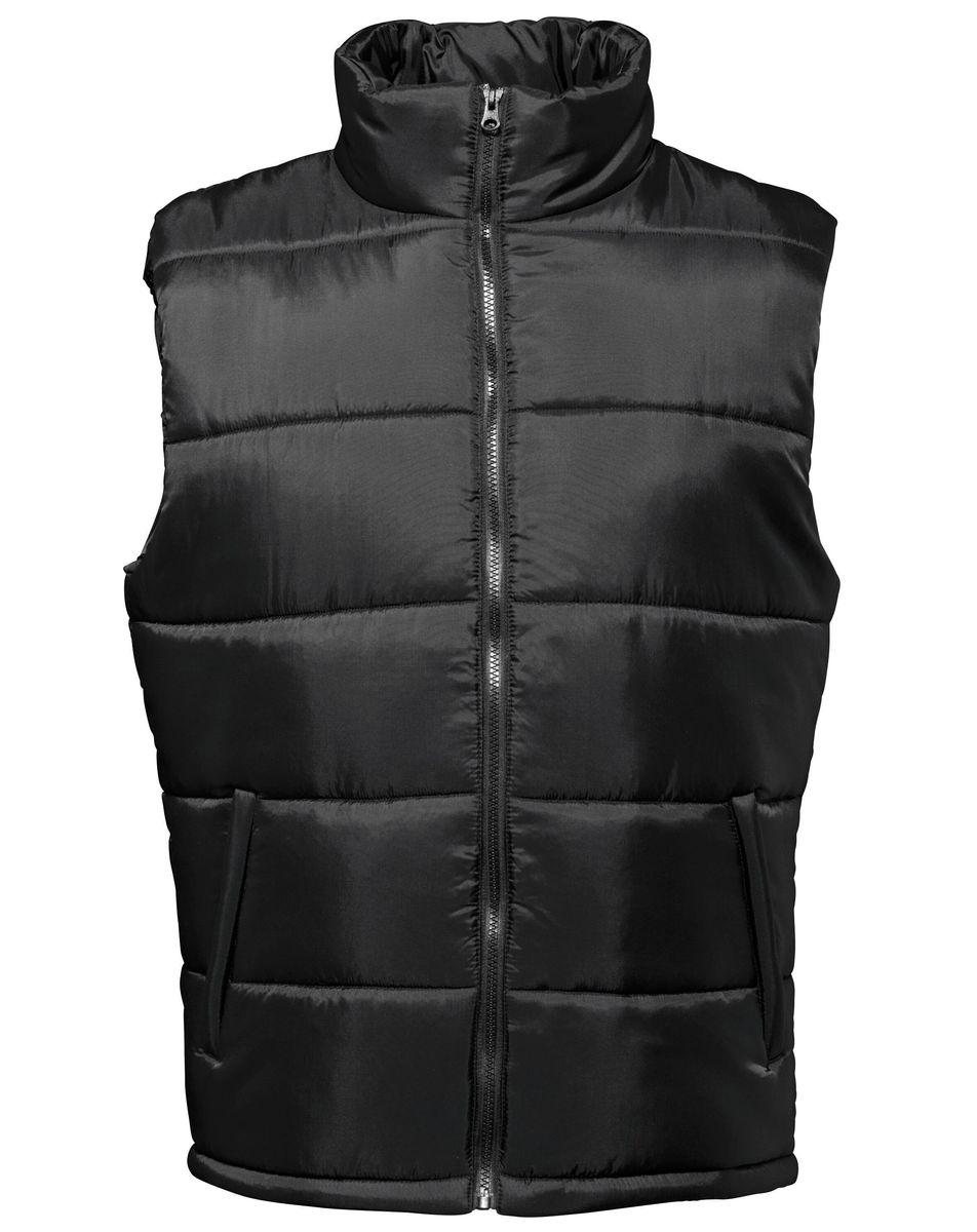 Gilet doudoune sans manches Homme - TS015 - Noir