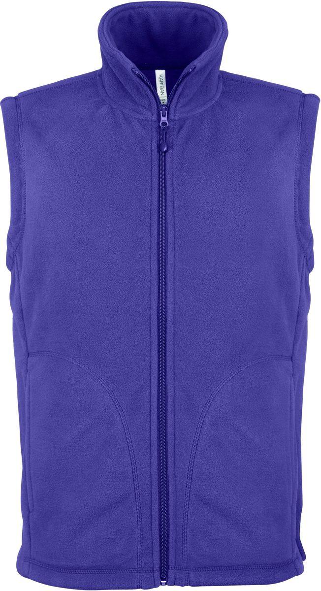 Gilet sans manches micro polaire homme - K913 - violet