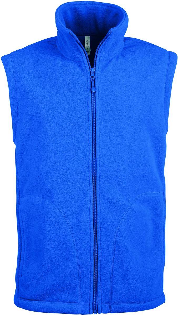 Gilet sans manches micro polaire homme - K913 - bleu roi