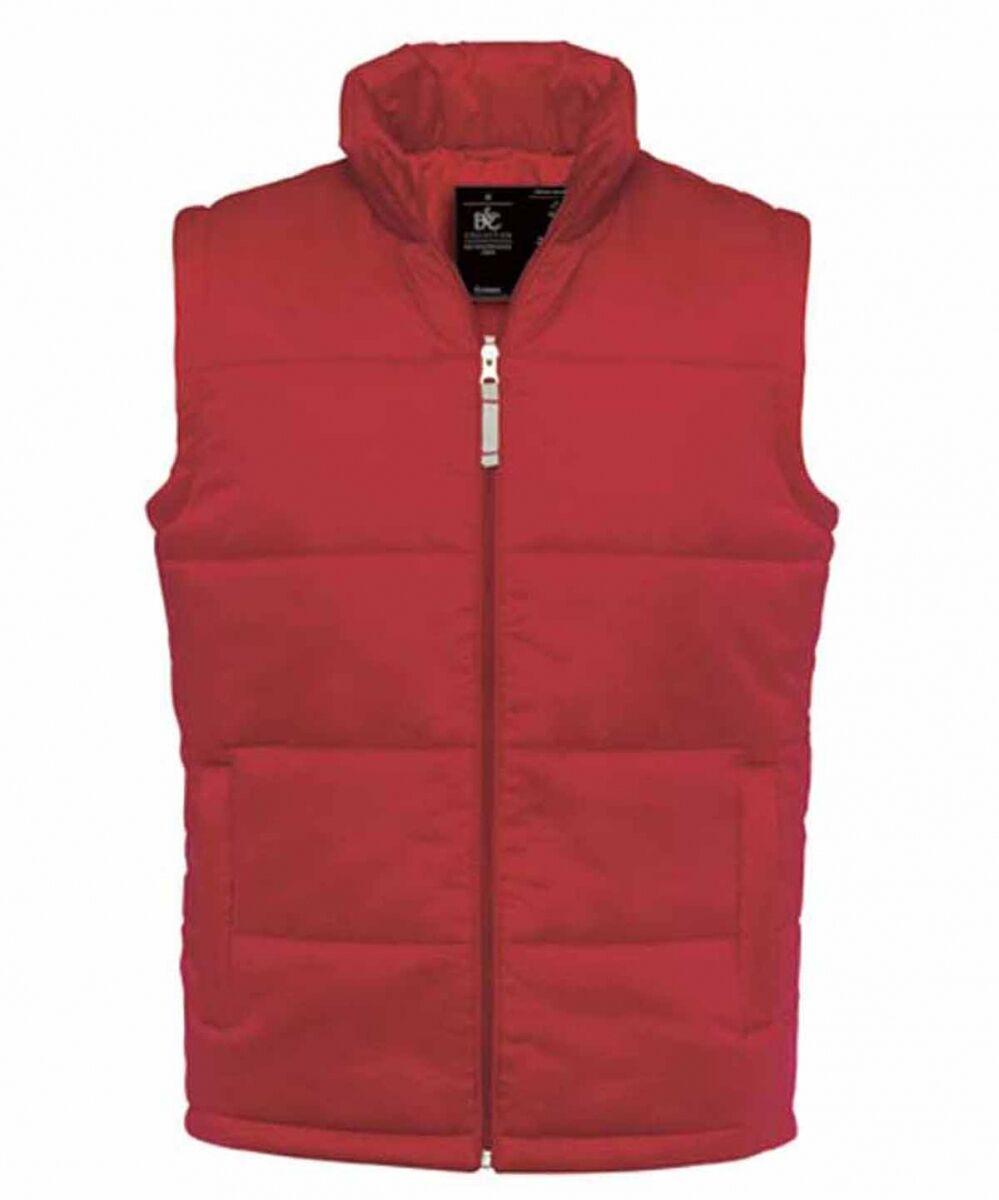 Gilet doudoune sans manches homme - Bodywarmer JM930 - Rouge