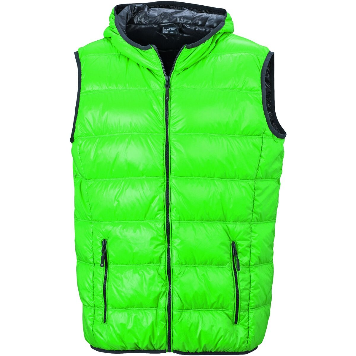 Bodywarmer duvet doudoune sans manches anorak homme - JN1062 - vert