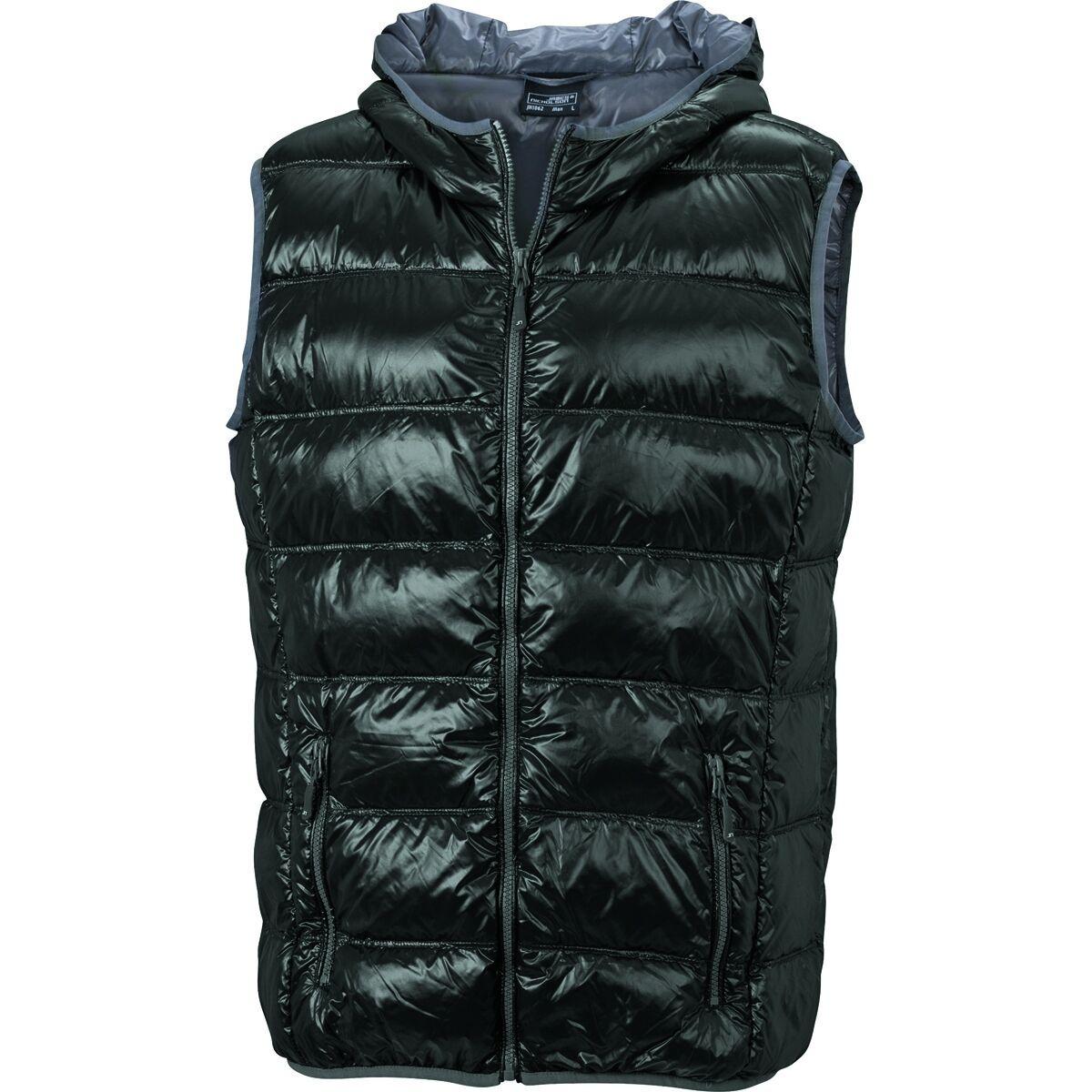 Bodywarmer duvet doudoune sans manches anorak homme - JN1062 - noir