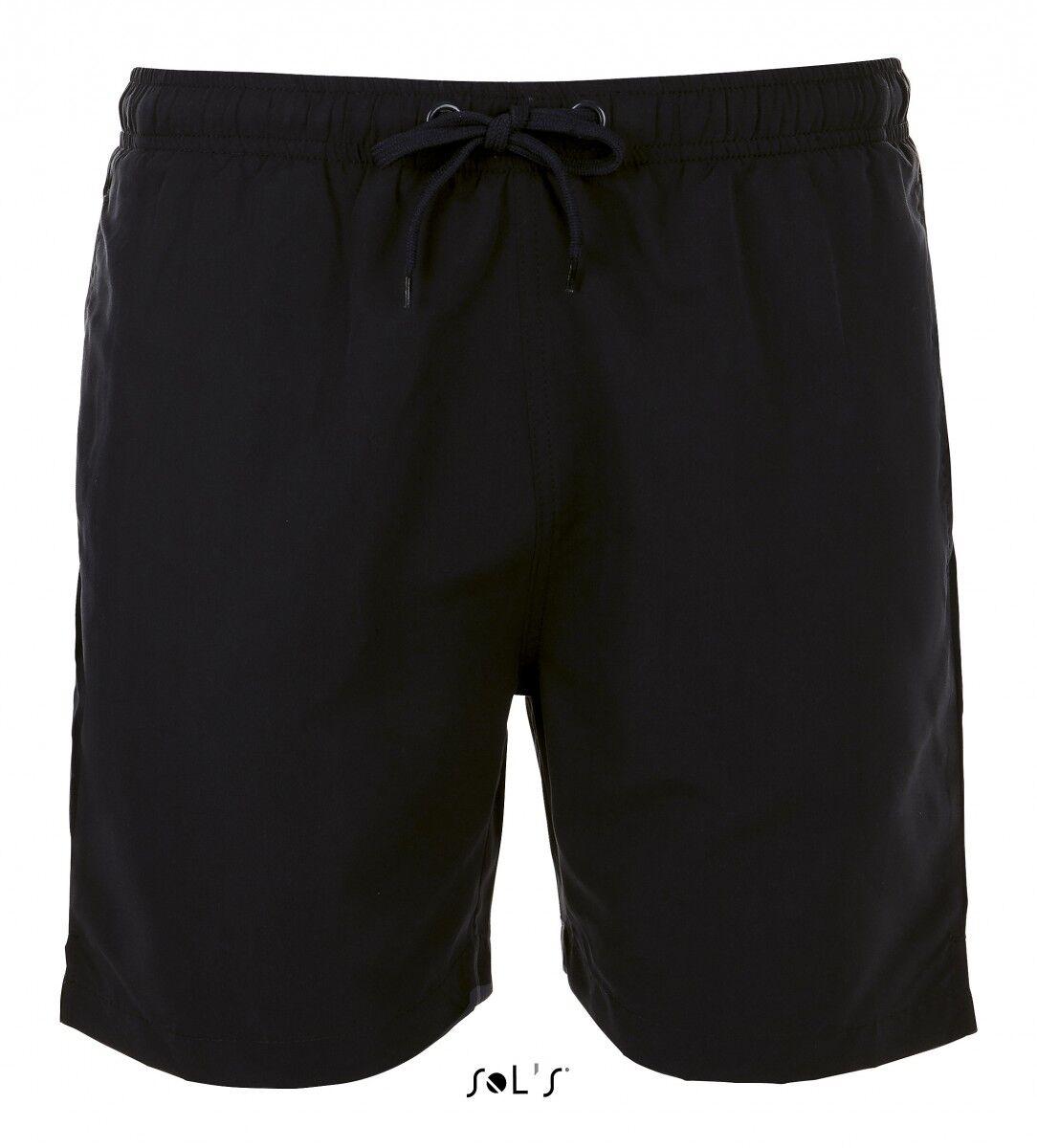short de bain Homme - 01689 noir