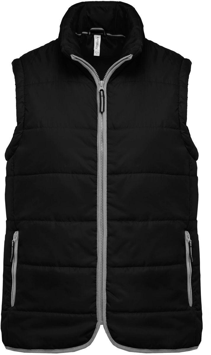 Doudoune sans manches - K6116 - noir - bodywarmer matelassé