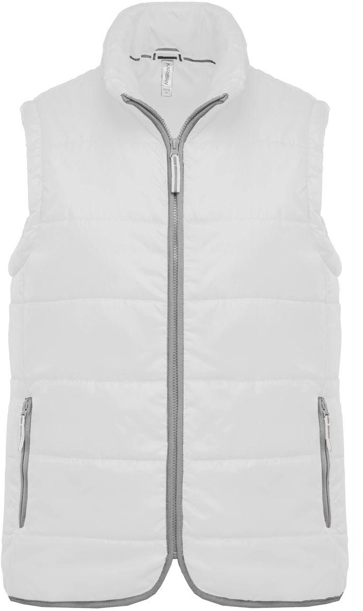 Doudoune sans manches - K6116 - blanc - bodywarmer matelassé