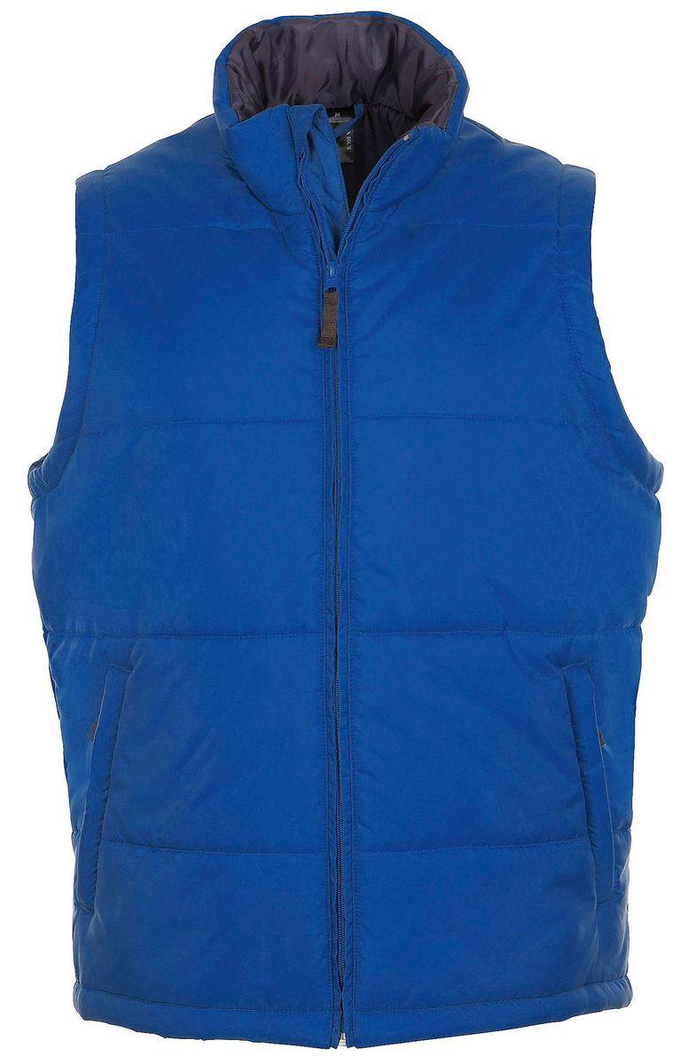 Doudoune veste sans manches matelassée - 44002 - bleu roi