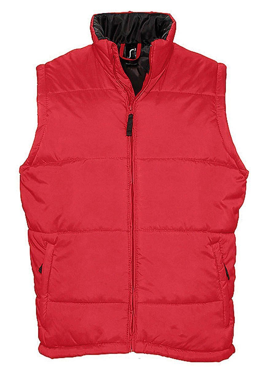 Doudoune veste sans manches matelassée - 44002 - rouge