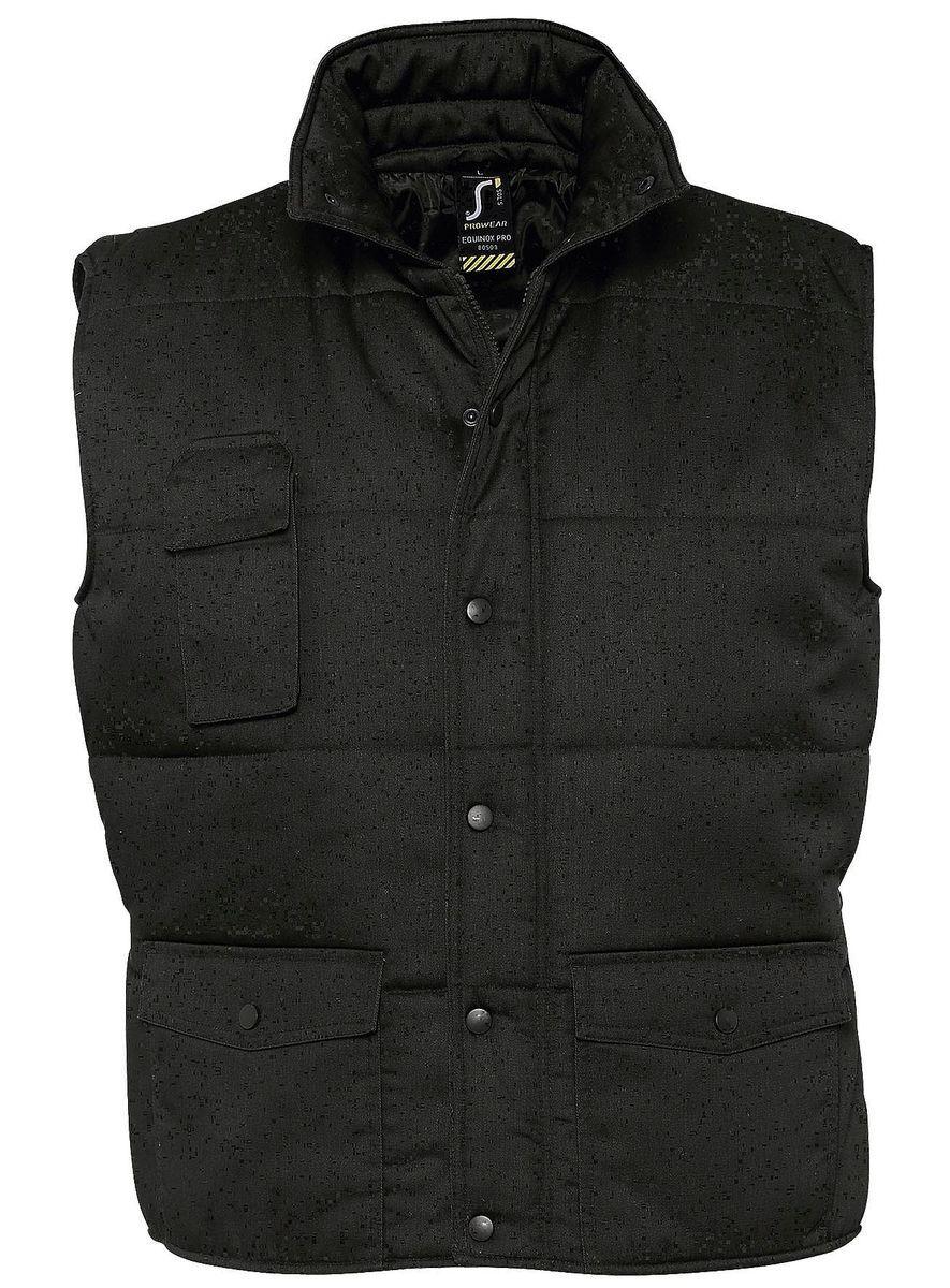 Veste sans manches matelassée - bodywarmer workwear - PRO 80503 - noir