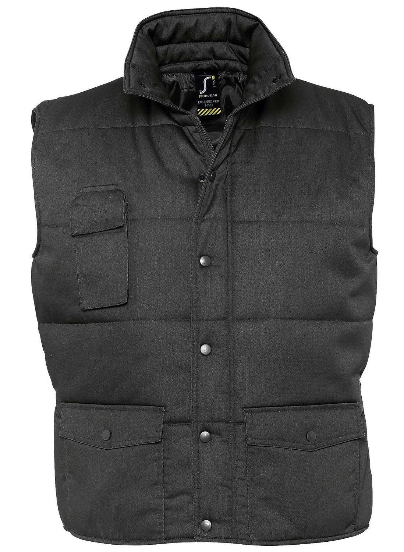 Veste sans manches matelassée - bodywarmer workwear - PRO 80503 - gris foncé