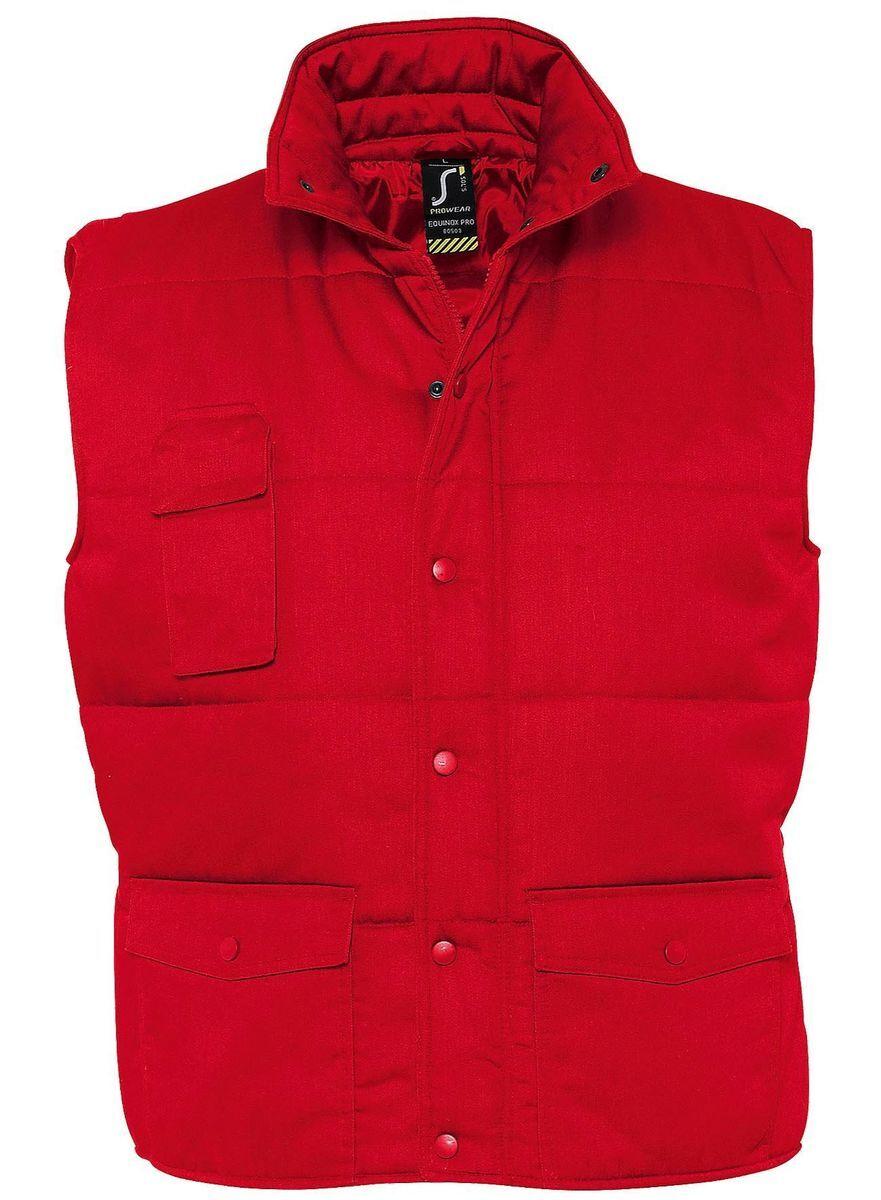 Veste sans manches matelassée - bodywarmer workwear - PRO 80503 - rouge